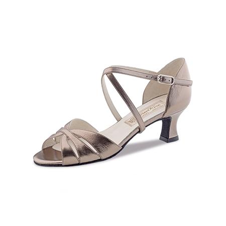 Werner Coeur - Femmes Dansent Chaussures Rachel 3,4 - Cuir Noir - 3,4 Cm - Noir -